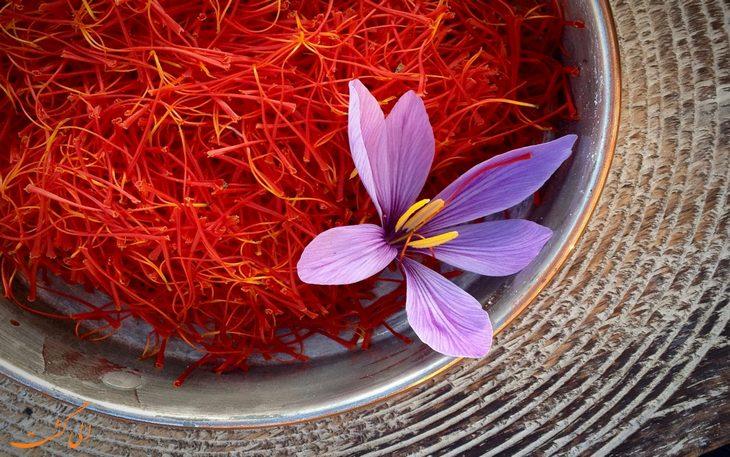 گران قیمت ترین مواد غذایی دنیا- زعفران
